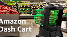 Amazon's smart shopping cart knows what you're buying