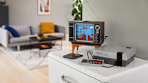Lego's buildable NES console comes with a 'playable' game