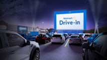 Walmart is turning some of its parking lots into drive-in theaters