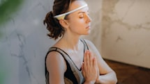 Track your meditation with this headband
