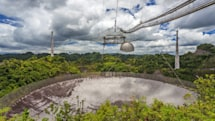 Recent damage to the Arecibo telescope could keep it offline for months