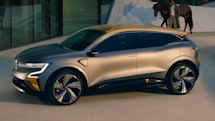 Renault's Mégane eVision concept offers a look at its future EV lineup