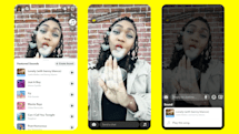 Snapchat finally lets users add music to their snaps