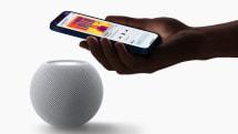Apple's HomePod mini is a smaller, spherical smart speaker