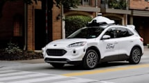 Ford will use its Escape SUV to power a self-driving car service