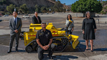 The LAFD just hired America's first firefighting robot