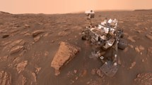 Curiosity rover finds evidence of ancient megafloods on Mars