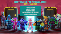 'Ready Player Two' author is going on a virtual book tour in 'Roblox'