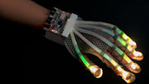 Stretchable skin sensor could help you touch things in VR