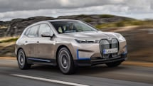 BMW's iX is a flagship electric SUV with 300 miles of range