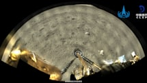 China's lunar sampling robot beams back its first full-color moon shots