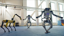 Watch the Boston Dynamics robot family dance like 2020 was a good year