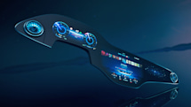 Mercedes-Benz made a 56-inch 'Hyperscreen' for its EQS electric car