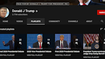 YouTube removes content from Donald Trump's channel, blocks new uploads