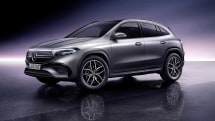 Mercedes-Benz' EQA crossover is its first sub-$50,000 EV