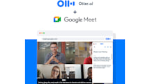 Otter launches live transcription for Google Meet