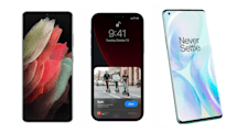 The Galaxy S21 Ultra vs. the iPhone 12 Pro Max and the OnePlus 8 Pro