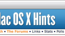 """Obituary: Mac OS X Hints might be """"pining for the fjords"""""""