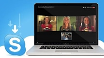 Skype 5.0 hits Mac with group video calling, streamlined interface