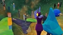 Microsoft's AltSpaceVR lets you build a virtual hangout