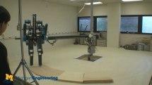 University of Michigan's MABEL robot hits a stride, breaks a leg (video)