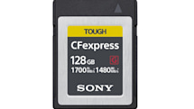 Sony's CFexpress cards will bring blistering speeds to cameras