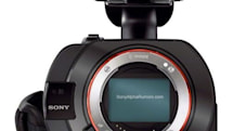 Sony VG900 leaks, packs full-frame sensor into a NEX camcorder