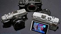 Olympus PEN E-P5 sports impressive specs and classic good looks, we go hands-on (video)