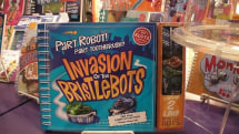 """Evil Mad Scientist's """"BristleBot"""" project boosted by Scholastic / Klutz for book, no credit in sight"""