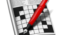 Crossword solving software that has reached version 1.0.7, eight letters one space