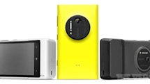 Nokia's Lumia 1020 leaks again with substantial camera grip for battery boost (update: new camera UI spotted)