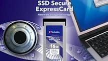 Verbatim announces 'world's first' SSD ExpressCards with 256-bit hardware encryption