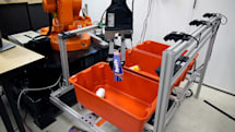 Robots that pick up and sort objects may improve warehouse efficiency
