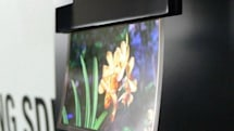 Samsung titillates with transparent and 0.05mm 'flapping' OLED panels