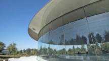 Apple employees keep walking into their new HQ's glass walls