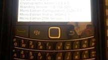 AT&T-branded BlackBerry Bold 9780 spotted by way of eBay