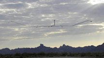Zephyr solar powered UAV lands after a fortnight in the air (whatever that means)