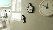 Big Big Cursor: the tablet stylus that's also a fridge magnet