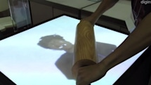 Keio University's Kinect-based Haptic VR system lets you roll your own face flat (video)