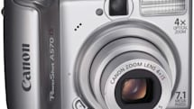 Canon's new PowerShot A570 and A560