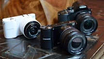Samsung NX210 and NX20 now available, NX1000 to ship in June for $700