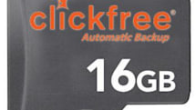 Clickfree aims at the suits with Traveler for BlackBerry auto backup card
