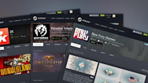 Steam lets game developers customize their homepages