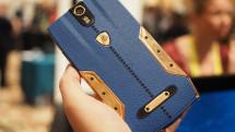 Tonino Lamborghini's 88 Tauri phone is leather, steel... and $6,300