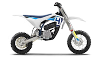 Husqvarna's first electric motorcycle is the EE 5 mini dirt bike