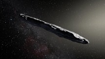 First observed interstellar object is a speedy, cigar-shaped asteroid