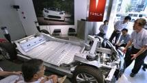 Tesla's first Model S battery swap station opens next week