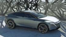 Nissan's IMs concept sedan EV includes a 'Premier' rear seat