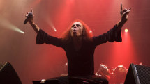 Heavy metal legend Ronnie James Dio will tour the world as a hologram