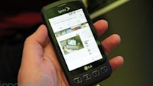 LG Optimus S, first hands-on! (update: video)